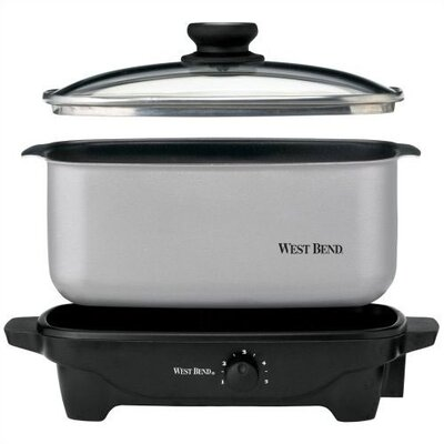 West Bend 5 Quart Oblong Slow Cooker