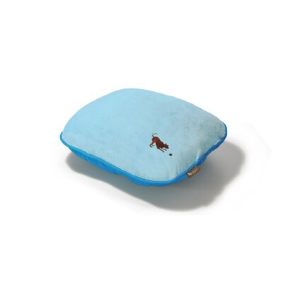 P.L.A.Y. Cotton Candy Pillow Dog Bed in Baby Blue