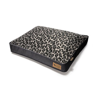 P.L.A.Y. Safari Serengeti Rectangular Dog Bed in Copper / Dark Grey