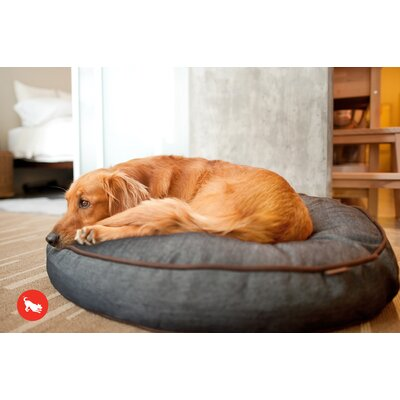 P.L.A.Y. Signature Urban Denim Round Dog Pillow