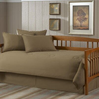 Paramount 5 Piece Twin Daybed Set in Solid Khaki