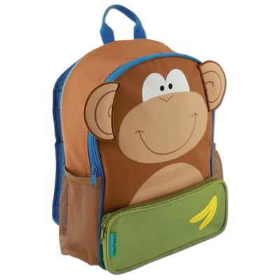 Stephen Joseph Sidekick Monkey Backpack