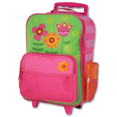 Stephen Joseph Flower Rolling Luggage