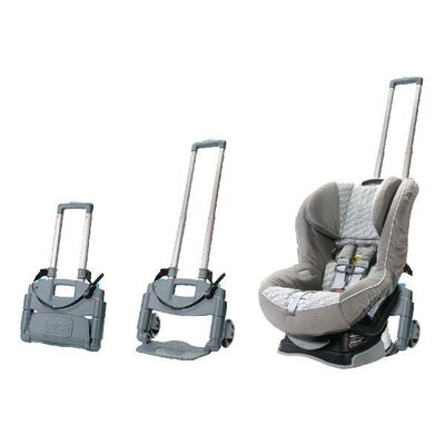Brica Roll N Go Car Seat Travel Transporter