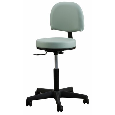 Oakworks Adjustable Premium Stool with Backrest