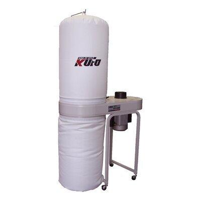 Kufo Seco 2 HP 220V Vertical Bag Dust Collector