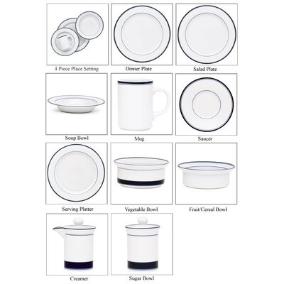 Dansk Concerto Allegro Blue Dinnerware Set