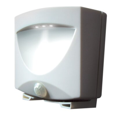 Maxsa Innovations Battery Powered Motion-Activated Outdoor Night Light