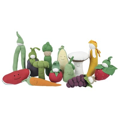 Under the Nile Veggies Carrot Plush Toy
