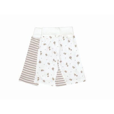 Nature's Nursery Rolled Waist Pant in Animal Print