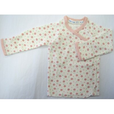 Under the Nile Twenty-Four Seven Long Sleeve Side Snap Shirt in Pink Dots