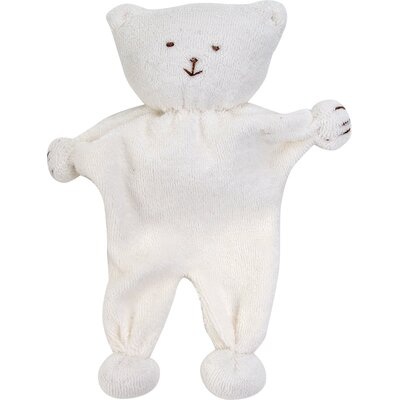 Under the Nile Eco Toys Bear Toy in White