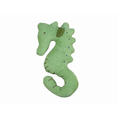 Under the Nile Endangered Species Seahorse Toy in Green