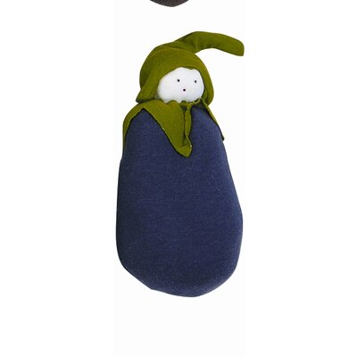 Under the Nile Veggies Eggplant Plush Toy