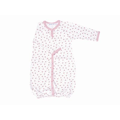 Under the Nile Twenty-Four Seven Convertible Baggie Baby Clothing in Pink Dots