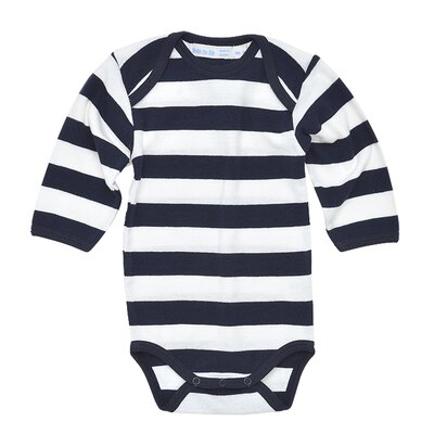 Under the Nile Rugby Long Sleeve Baby Bodysuit