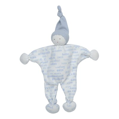 Under the Nile Hello Goodbye Print Baby Buddy Toy