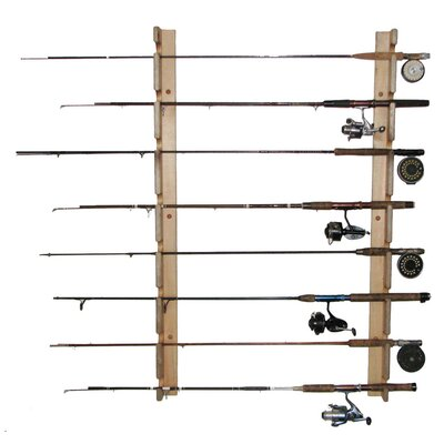 Del Sol Racks Del Sol Fishing Rod Storage Rack 8 Space