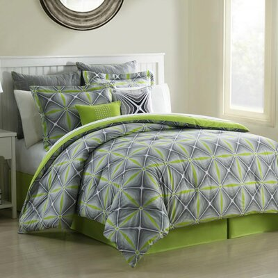 Organic Fan 8 Piece Comforter set