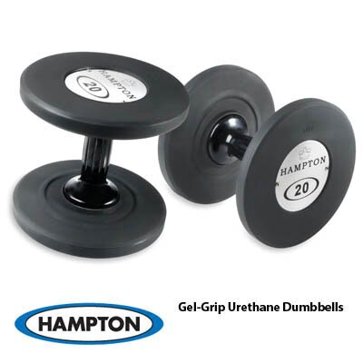 Hampton Fitness Products Gel Grip Dumbbell