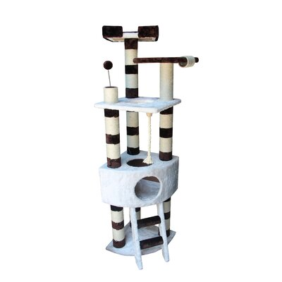 "Kitty Mansions 65"" Savannah Cat Tree"