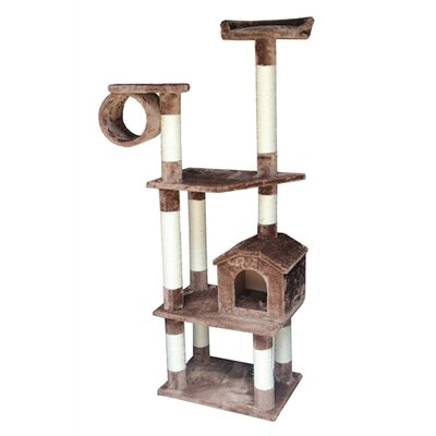 "Kitty Mansions 68"" Baltimore Cat Tree"