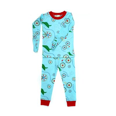 New Jammies Mitted Jammie Bicycles Organic Pajama