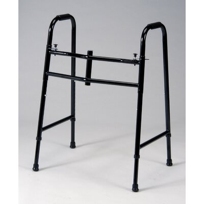 TFI 20&quot; Universal Double Button Folding Walker in Black