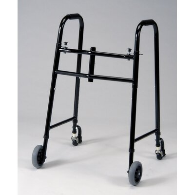 TFI Universal 4 Wheel Folding Walker in Black