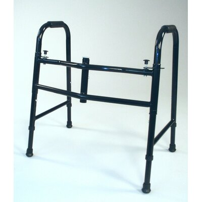 TFI Wide Small Folding Walker in Black