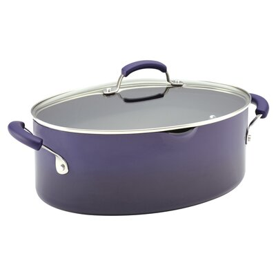 Rachael Ray Porcelain II Nonstick 8-qt. Stock Pot with Lid