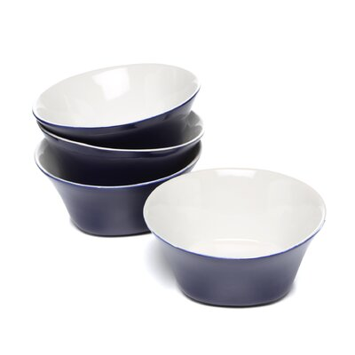 "Rachael Ray Round & Square 6"" Cereal Bowls: Set of (4)"