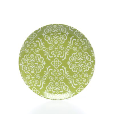 "Rachael Ray Curly-Q Green 8"" Salad/Dessert Plates"