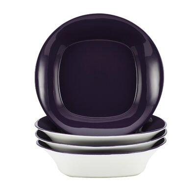 Rachael Ray Dinnerware Round and Square Soup and Pasta Bowl