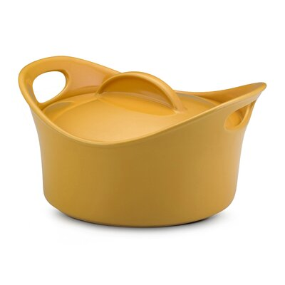 Rachael Ray Bubble and Brown 2 3/4-Qt. Round Casserole