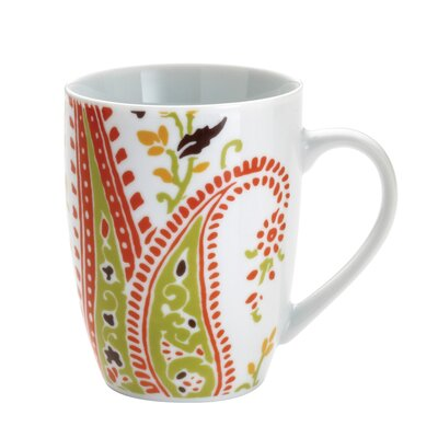 Rachael Ray Paisley 11 oz. Mugs: Set of (4)