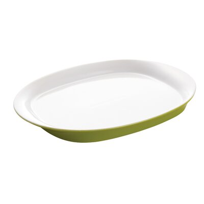 "Rachael Ray Dinnerware Round and Square 16.25"" Oval Platter"