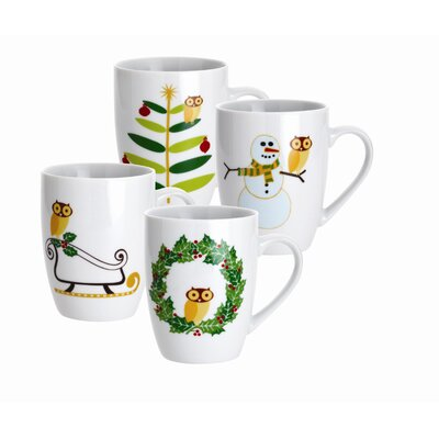 Rachael Ray Holiday Hoot 11 oz. Mug