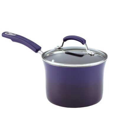 Rachael Ray Porcelain II 3-qt. Saucepan with Lid