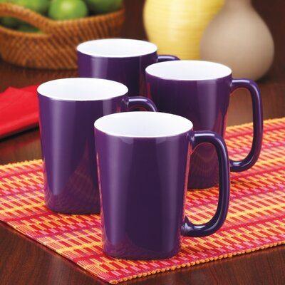 Rachael Ray Round and Square 14 oz. Mug (Set of 4)