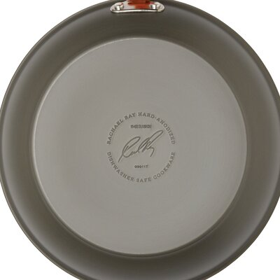 Rachael Ray Hard-Anodized II Dishwasher Safe Nonstick 12 Piece Cookware Set