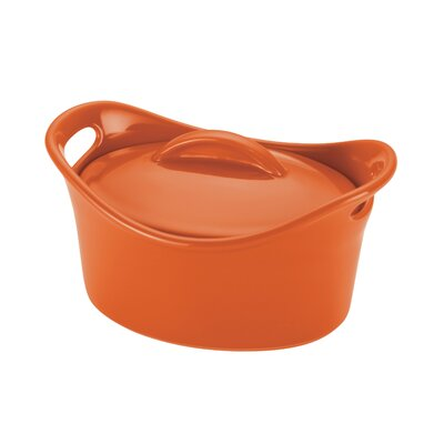 Stoneware 18 oz. Mini Oval Casserole