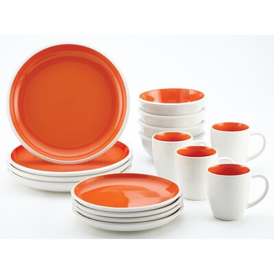 Rachael Ray Rise 16-Piece Dinnerware Set