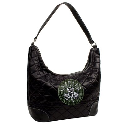 Little Earth NBA Sport Noir Quilted Hobo Purse