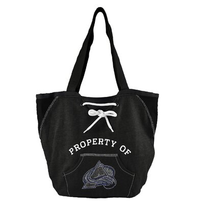 Little Earth NHL Sport Noir Hoodie Tote Bag