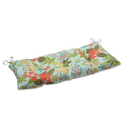Fancy a Floral Wrought iron Loveseat Cushion