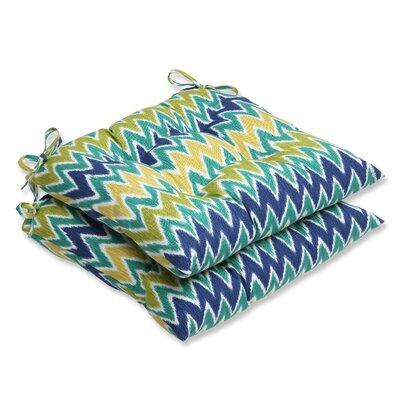 Pillow Perfect Zulu Wrought Iron Seat Cushion