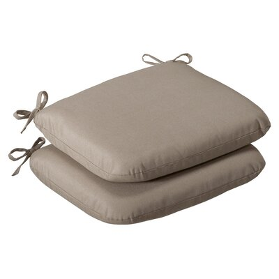 Outdoor Rounded Seat Cushion (Set of 2)