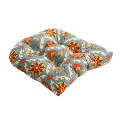 Pillow Perfect Mayan Medallion Chair Cushion