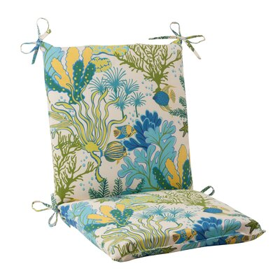 Pillow Perfect Splish Splash Chair Cushion